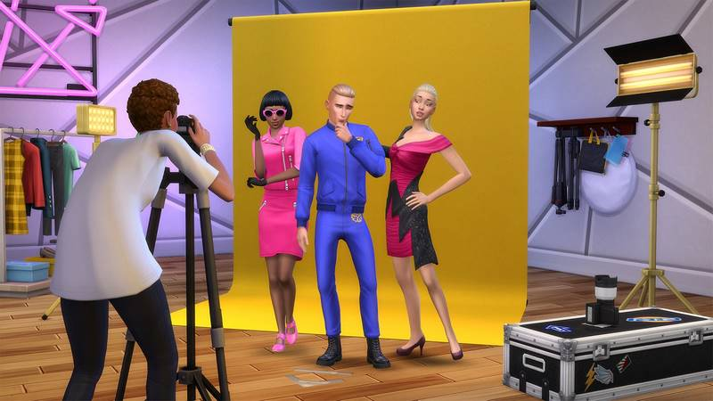 The Sims 4 Moschino